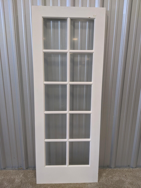 """30"""" 10-Lite Interior Door #1816"""