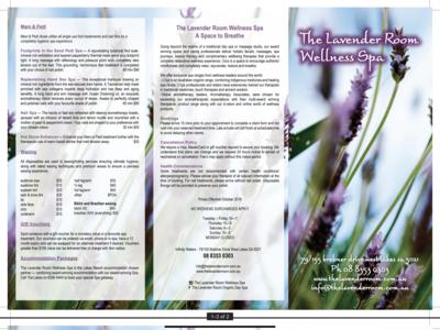 Treatment Brochure