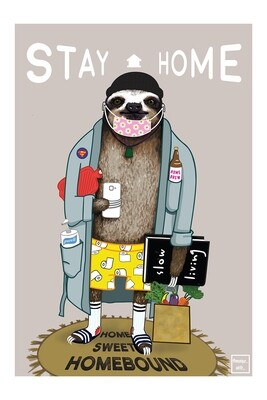 Stay at Home Sid (A3)