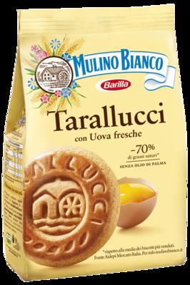 Sausainiai Tarallucci su kiaušiniu ,,Mulino Bianco