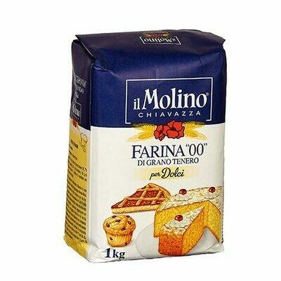 """Itališki kvietiniai miltai 00 kepiniams """"Il Molino Chiavazza"""""""