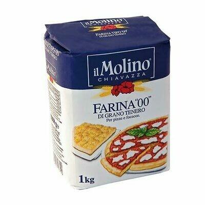 """Itališki kvietiniai miltai picai 00 """"Il Molino Chiavazza"""""""
