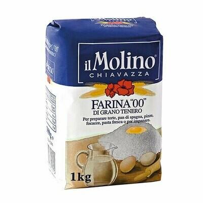 """Itališki kvietiniai miltai 00 """"Il Molino Chiavazza"""""""
