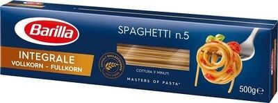 Pilno grūdo makaronai Spaghetti Integrale ,,Barilla