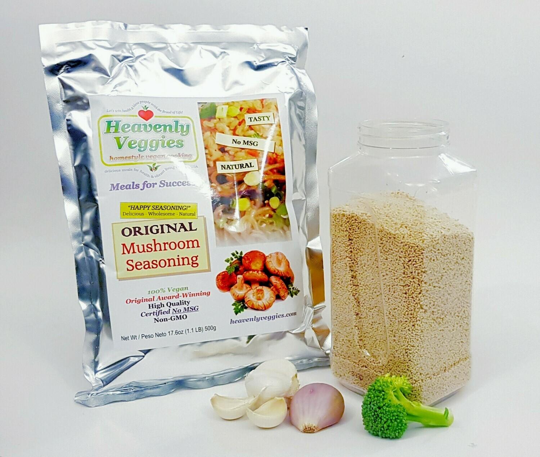 HEAVENLY VEGGIES Original Mushroom Seasoning