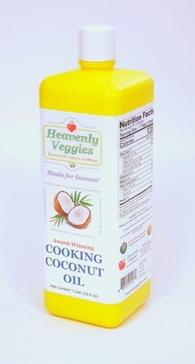 HEAVENLY VEGGIES Pure Cooking Coconut Oil