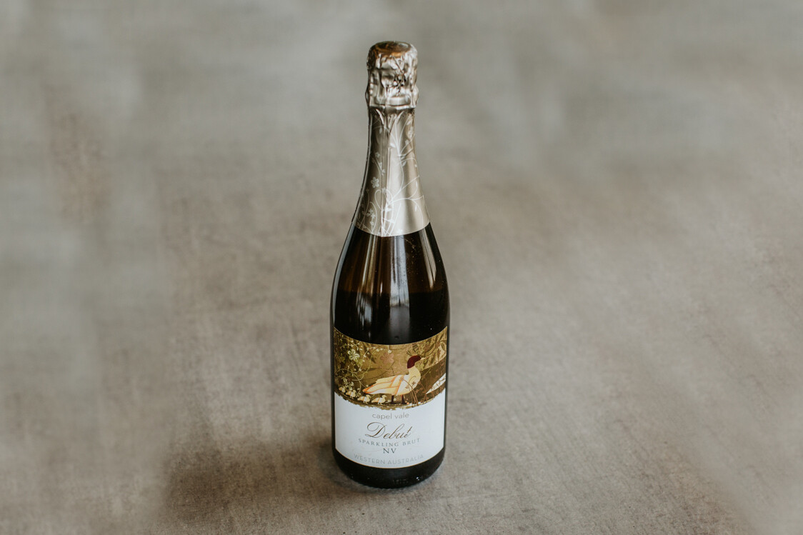 Bottle of Capel Vale Sparkling Wine