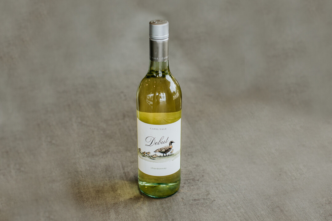 Bottle of Capel Vale Chardonnay