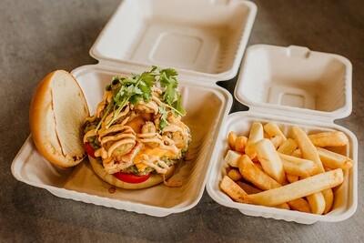 Crispy Jalapeno Chicken Burger