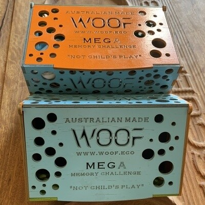 "The WOOF Mega Memory Challenge  ""definitely not child's play"""