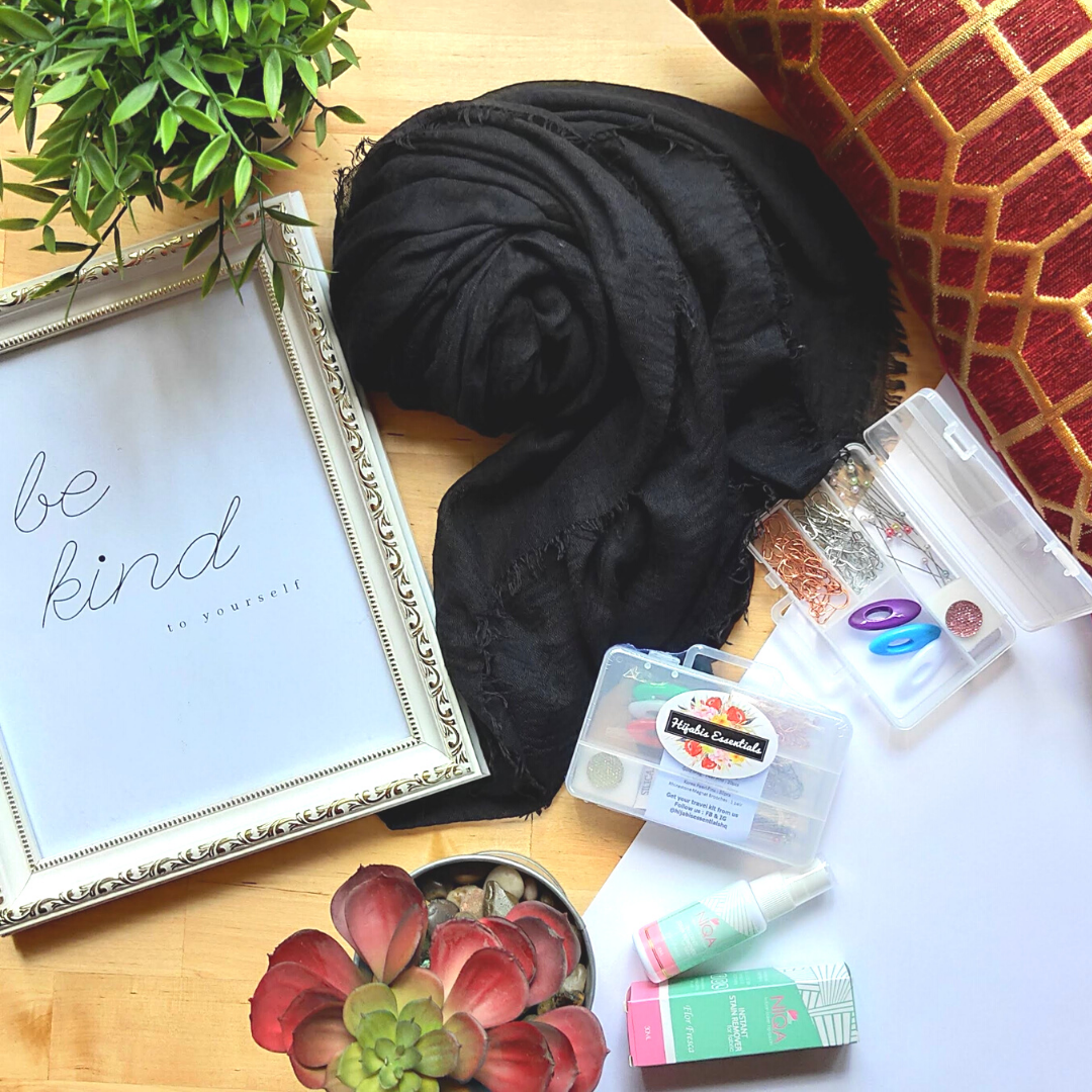 Viscose Shawl + Hijab Kit Bundle Set