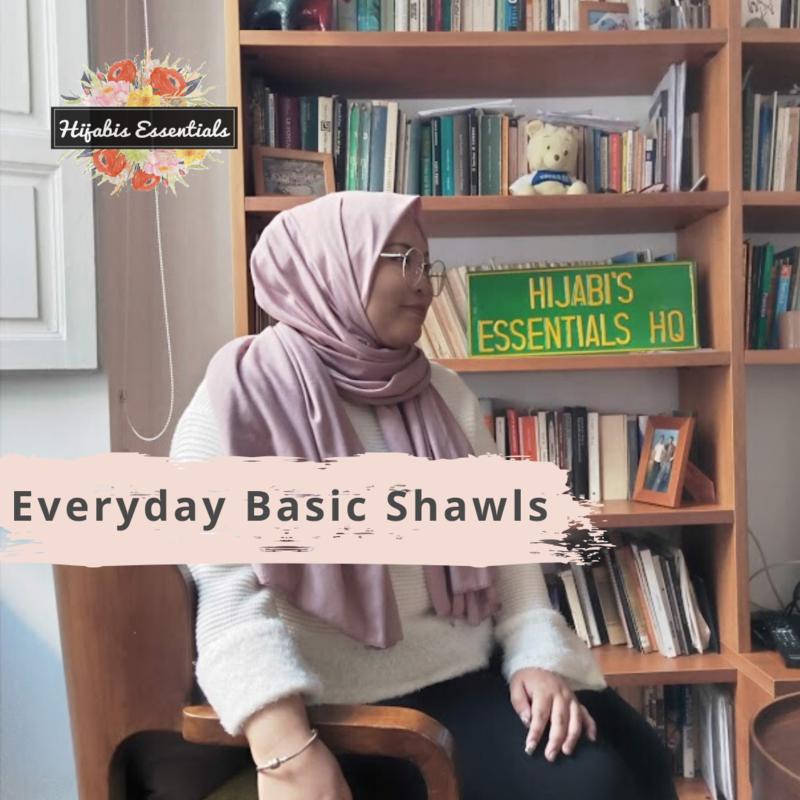 Jersey Shawl | Everyday Basic Shawls