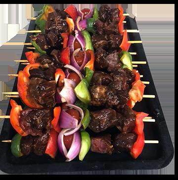 Gourmet Beef Kebabs - Each