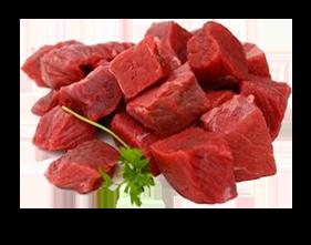 Diced Beef - Per Kg