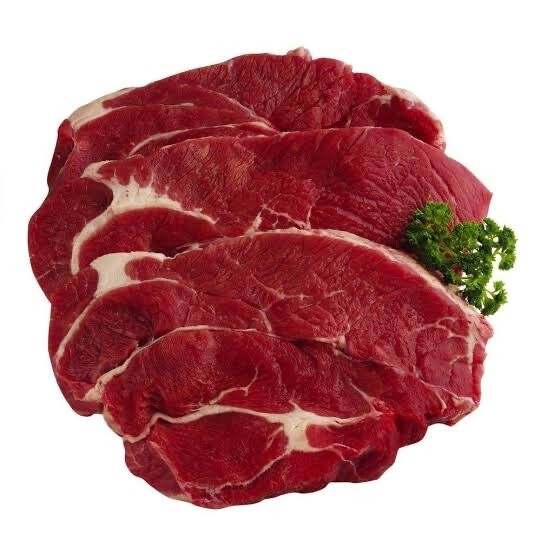 Beef Chuck Steak Diced - Per Kg