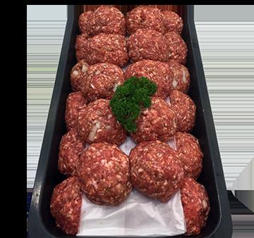 Gourmet Beef Rissoles - Per Kg