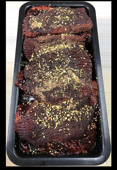 BBQ and Garlic Beef Rump Steak - Per Kg
