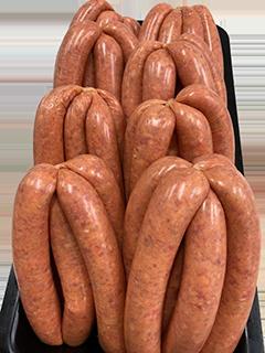 Gourmet Beef Sausages - Per Kg
