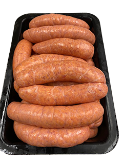 Thick Breakfast Sausages - Per Kg
