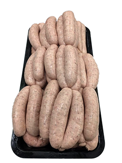 Traditional English Pork Sausages (thick) - Per Kg
