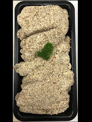 Herb and Garlic Chicken Schnitzel - Per Kg