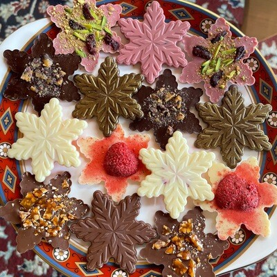 CHOCOLATE SNOWFLAKE COLLECTION