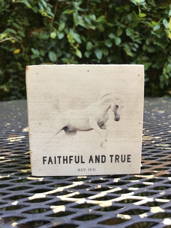 Faithful And True Spirit Block