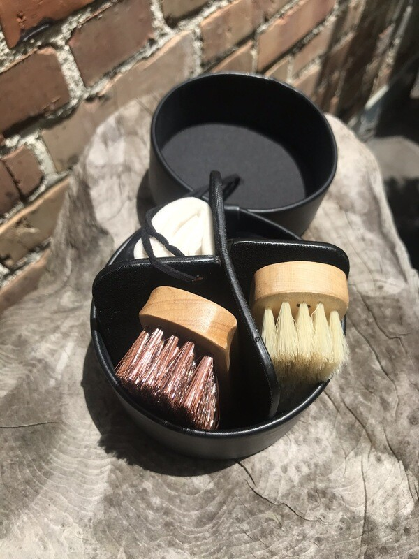Portable Shoe Cleaning Kit