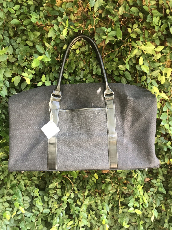 Duffle Bag in Charcoal