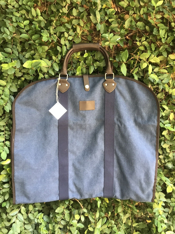 Garment Bag in Blue