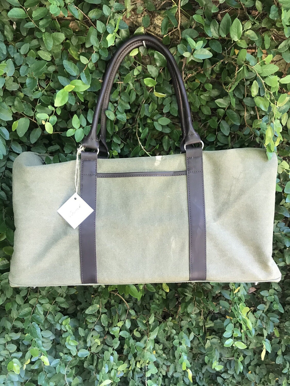 Duffle Bag in Green