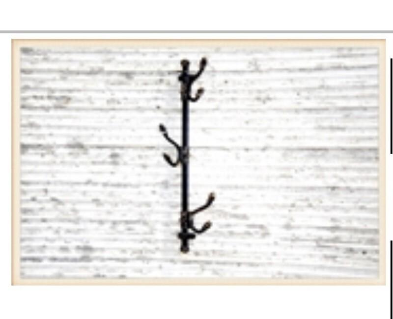 Wall Mount Hook Rack