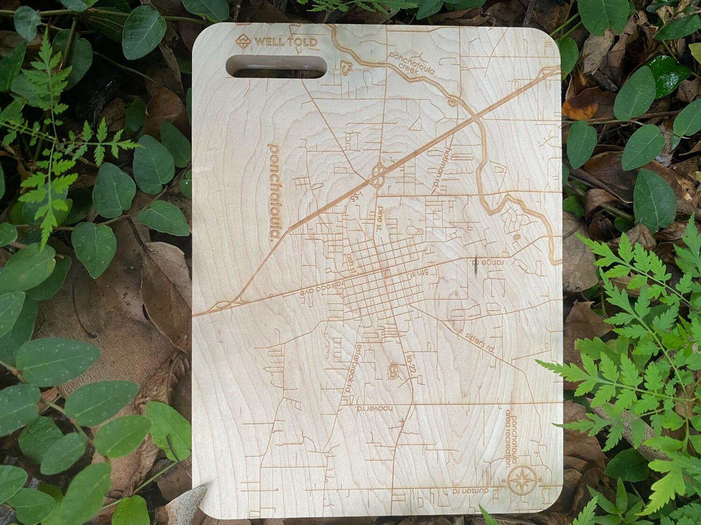 Map Of Ponchatoula Bar Board