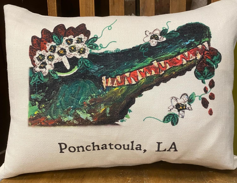 Canvas Lumbar Pillow