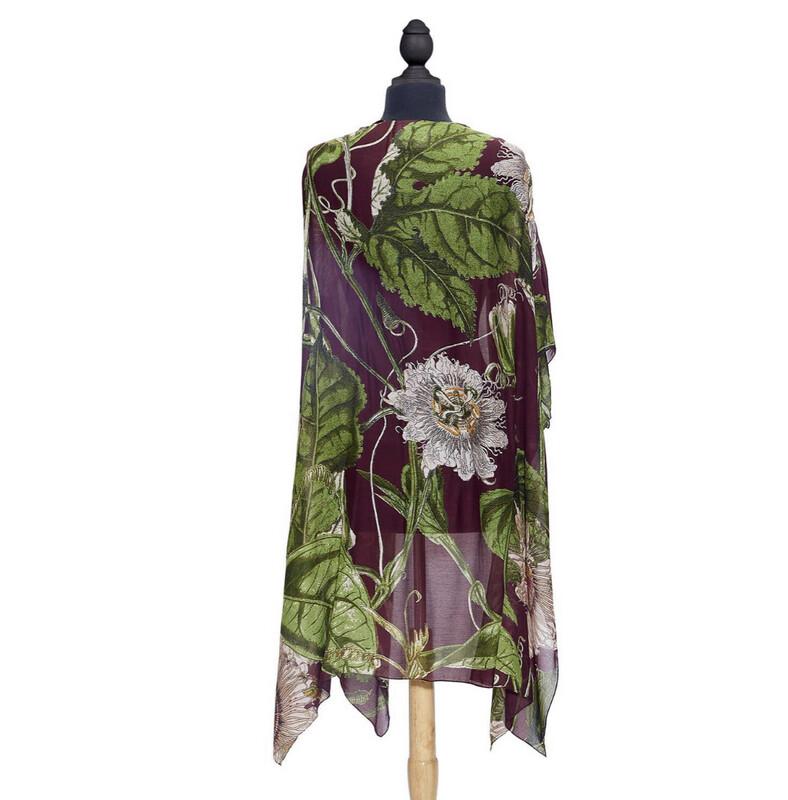 Passion Flower Kimono