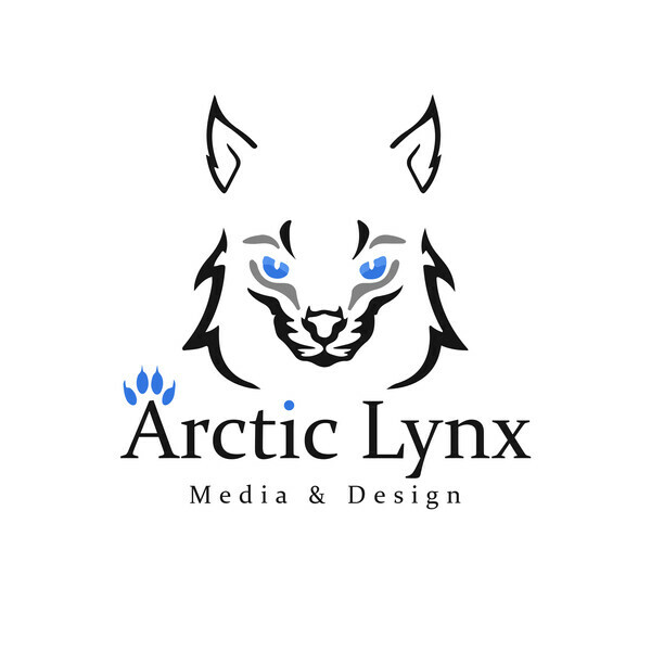 Arctic Lynx Media & Design Print
