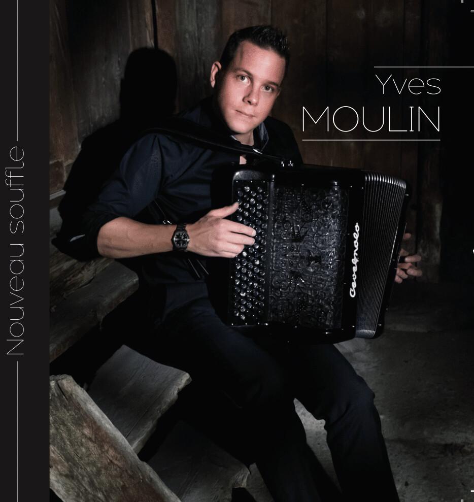 """CD Yves Moulin """"Nouveau Souffle"""""""