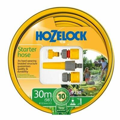 Hozelock Starter Hose + Fitting Set