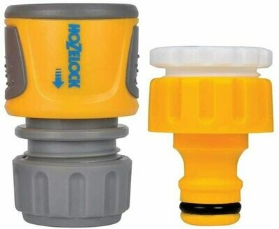 Hozelock Threaded Tap Connector & Hose End Connector Pack