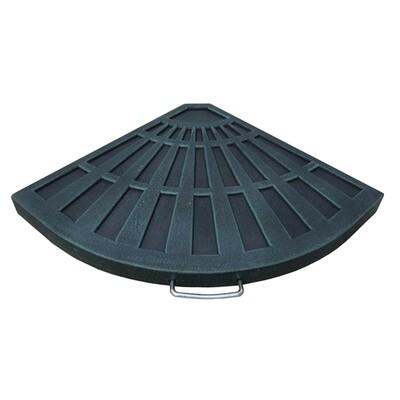 12kg Resin Overhang Parasol Base
