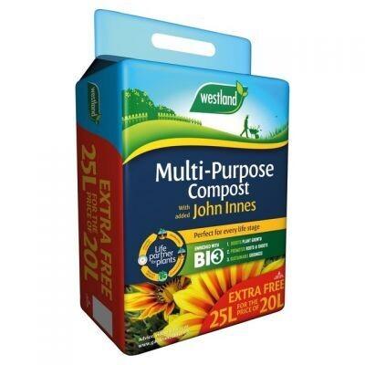 25 Litre Multi Purpose Compost Blended with John Innes