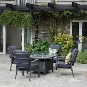 Milano Lounge Firepit Set