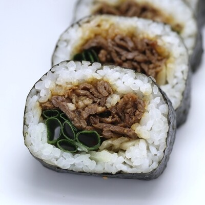 Beef Teriyaki Sushi Roll