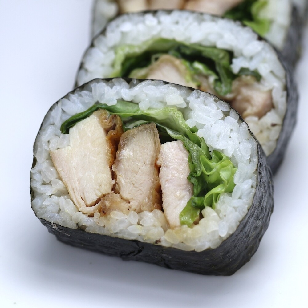 Chicken Teriyaki Sushi Roll
