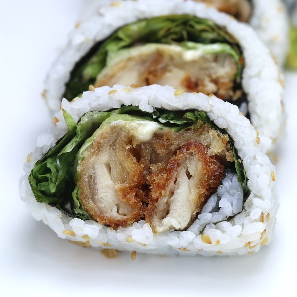 Chicken Katsu Sushi Roll