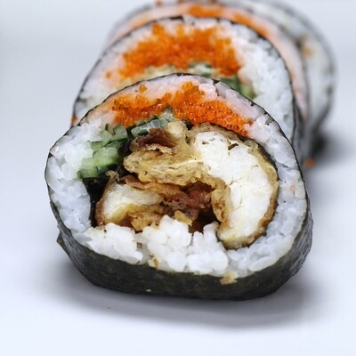 Jumbo Soft Shell Crab Sushi Roll
