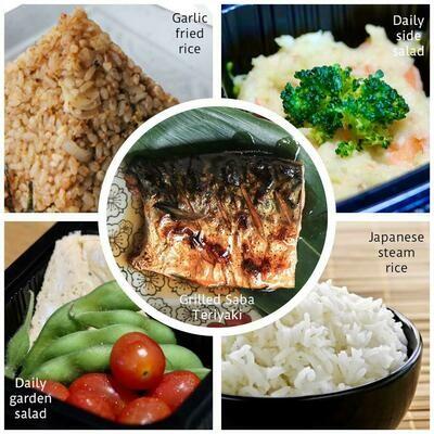 Grilled Saba Teriyaki Bento