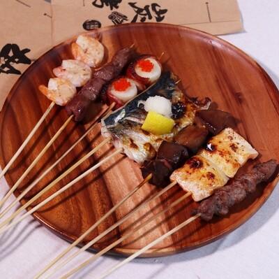 Kushiyaki Combo: 10 Choices