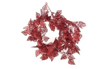 bladerenslinger rood kunststof