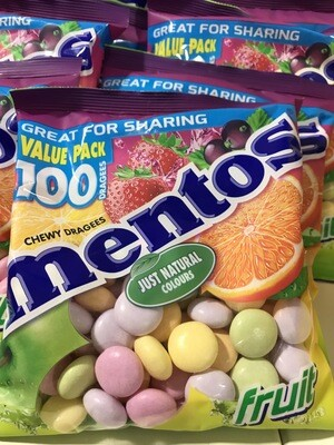 Mentos Fruit 300gr